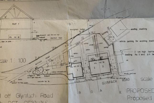 Thumbnail Land for sale in Plots 1, 2, And 3, Porth