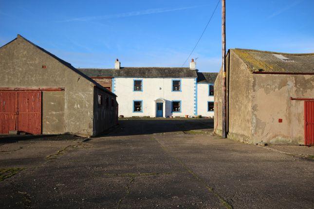 Thumbnail Farmhouse for sale in Newton Arlosh, Wigton