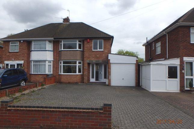 Thumbnail Semi-detached house to rent in Hartshill Road, Acocks Green, Birmingham