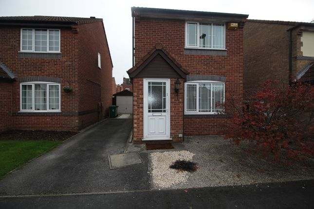 Thumbnail Detached house to rent in Kingfisher Close, Nottingham