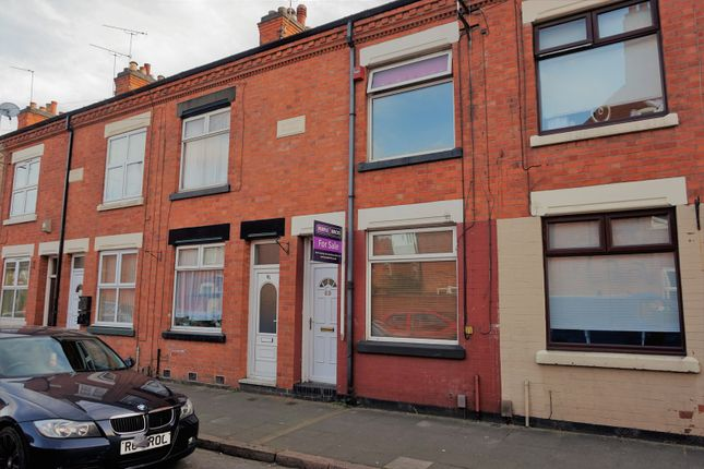 Thumbnail Terraced house for sale in Central Road, Leicester