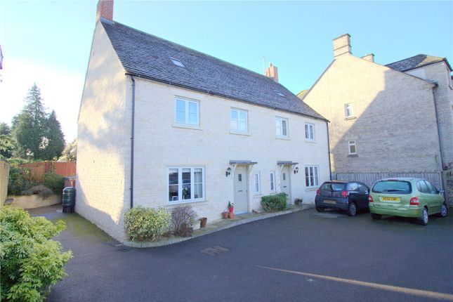 Thumbnail Semi-detached house for sale in The Woodbine, Cirencester