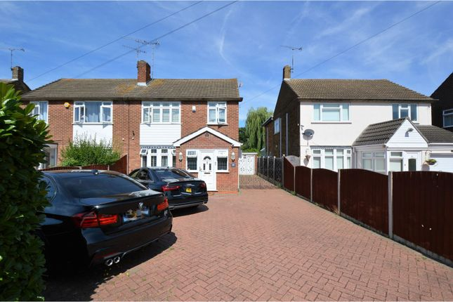 Thumbnail Semi-detached house for sale in Long Ridings Avenue, Brentwood