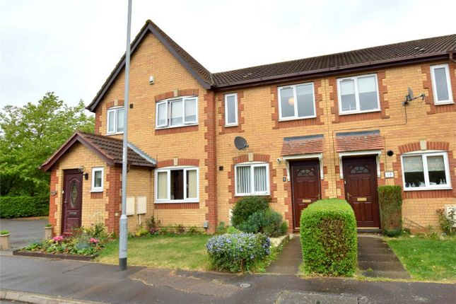 Thumbnail Terraced house to rent in Wood View, Brampton, Huntingdon, Cambridgeshire