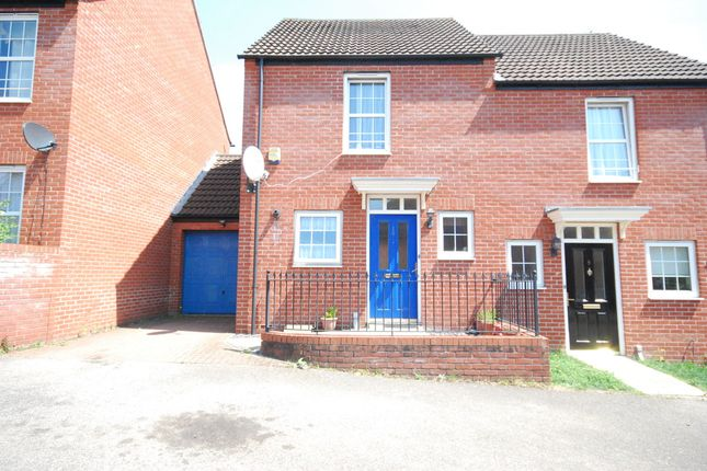 Thumbnail Semi-detached house to rent in Birch Covert, Thetford