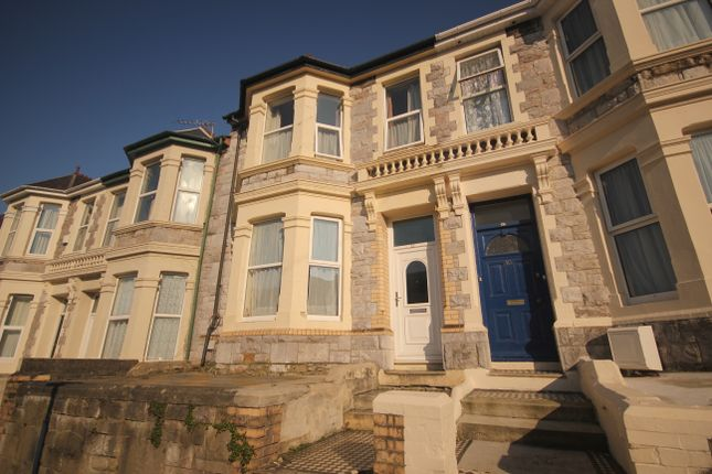 Thumbnail Terraced house to rent in Derry Avenue, Plymouth