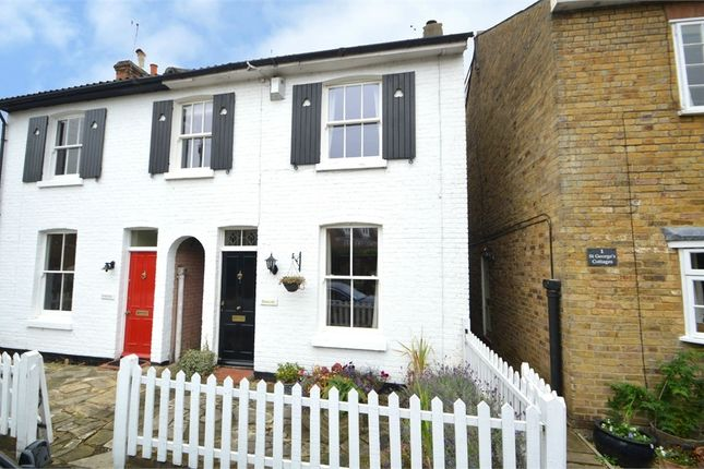 Thumbnail Cottage for sale in South Road, Weybridge, Surrey