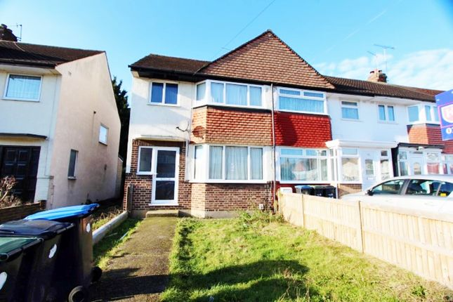 Thumbnail Semi-detached house for sale in Lytton Avenue, Enfield