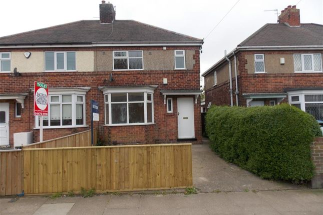 Thumbnail Semi-detached house to rent in Chelmsford Avenue, Grimsby