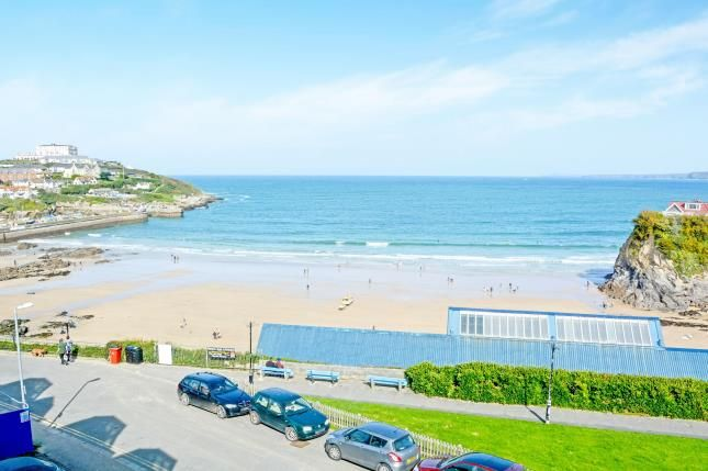 Towan Beach of The Crescent, Newquay, Cornwall TR7