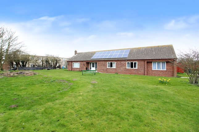 Thumbnail Detached bungalow for sale in Newport Road, Hemsby, Great Yarmouth