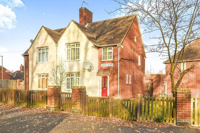 Thumbnail Semi-detached house for sale in Gooding Avenue, Leicester