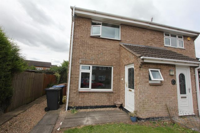 Thumbnail Semi-detached house for sale in Orchard Close, Barlestone, Nuneaton