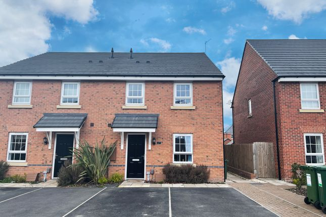 Thumbnail Semi-detached house to rent in Ettrick Way, Lubbesthorpe, Leicester, Leicestershire