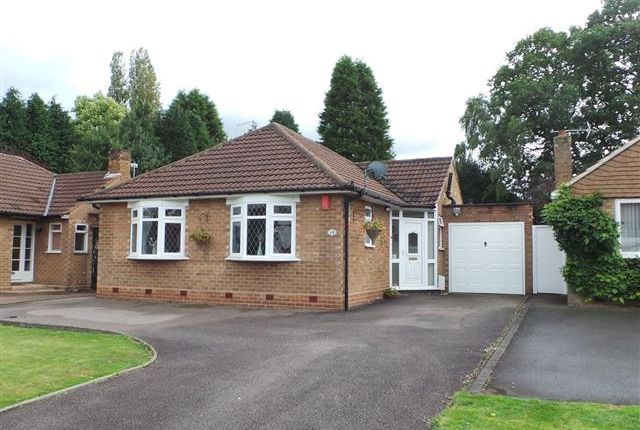 Thumbnail Detached bungalow for sale in Streetly Crescent, Four Oaks, Sutton Coldfield