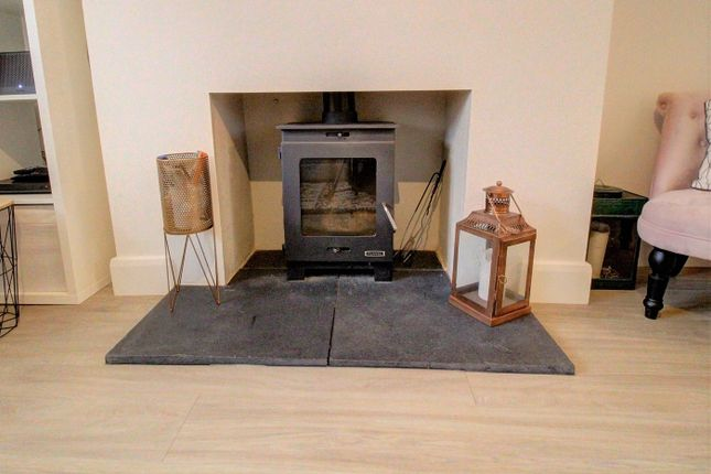 Feature Log Burner In Sitting Room