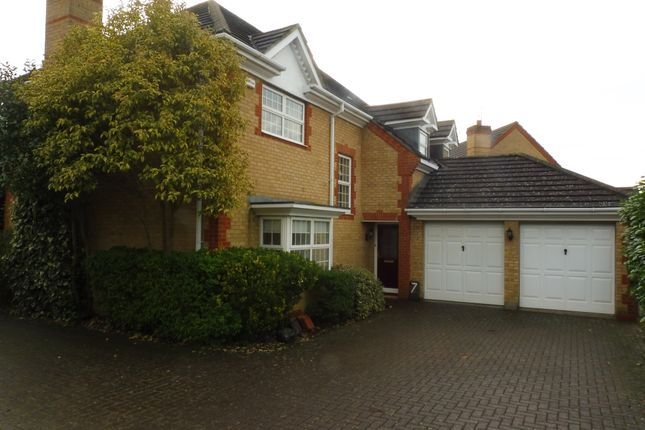 Thumbnail Detached house for sale in Maida Close, Wootton, Northampton