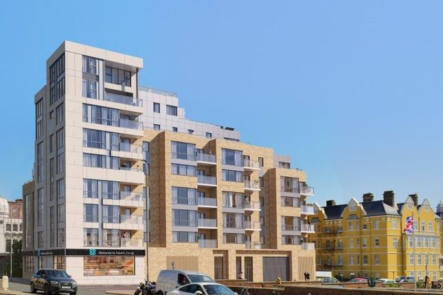 Thumbnail Flat for sale in 133 Kingsway, Hove, West Sussex