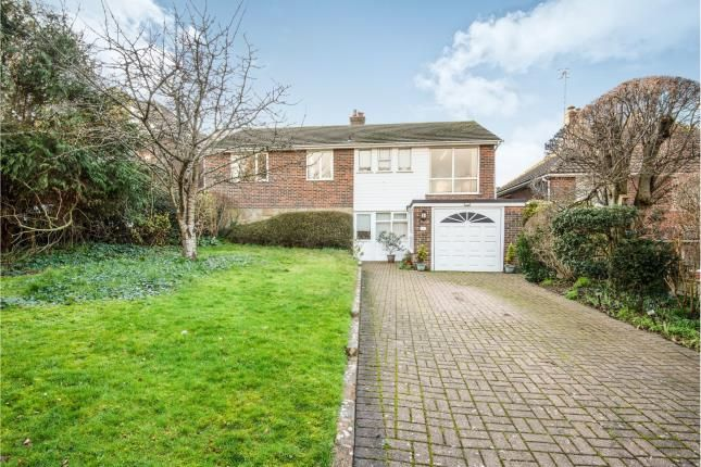 Thumbnail Detached house for sale in Lullington Close, Seaford, East Sussex, .