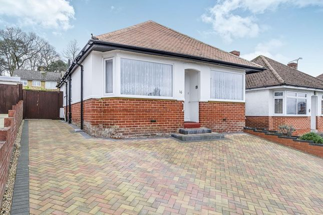 Thumbnail Bungalow for sale in Springford Crescent, Southampton