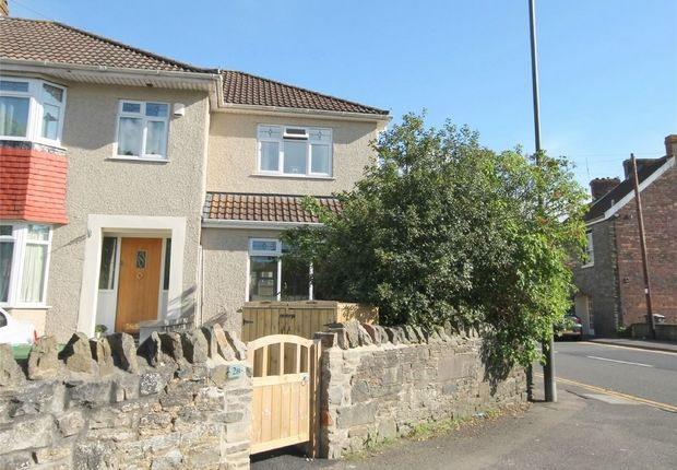 Thumbnail End terrace house for sale in Pettigrove Road, Kingswood, Bristol