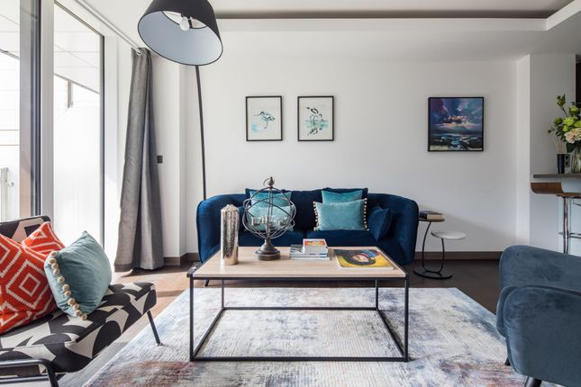 Thumbnail Flat to rent in North Wharf Road, London