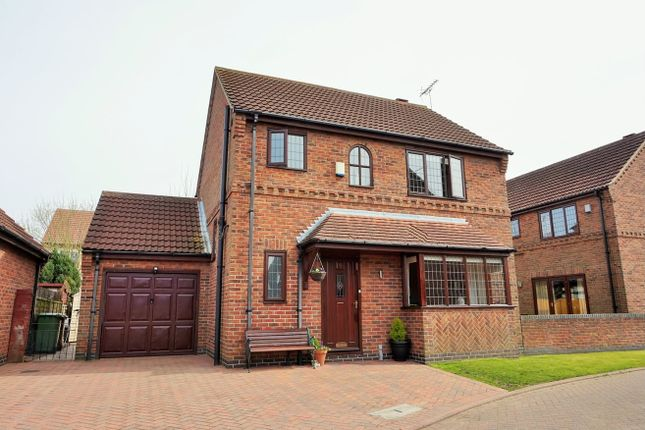 Thumbnail Detached house for sale in Selby Close, Epworth