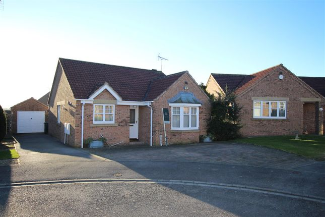 Thumbnail Detached bungalow for sale in Worsley Court, Malton