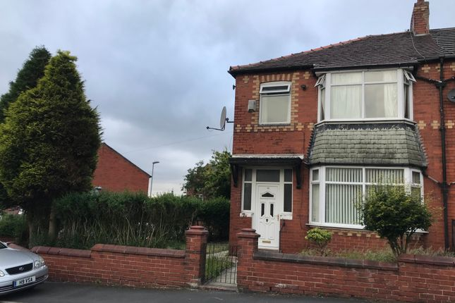 Thumbnail Terraced bungalow to rent in Oriel Avenue, Oldham