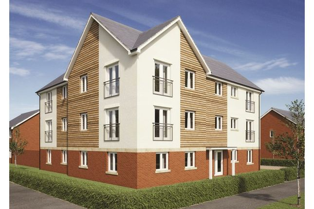 1 bed flat for sale in Plot 174, Badbury Park, Rainscombe Road, Swindon, Wiltshire