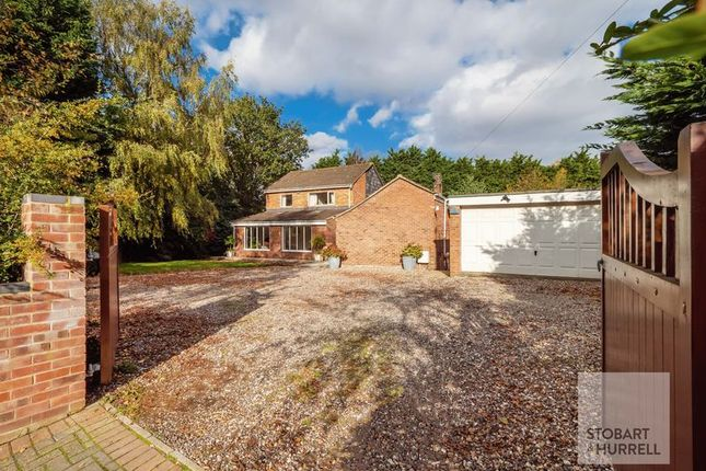 Thumbnail Detached house for sale in Chalfonts, North Street, Blofield