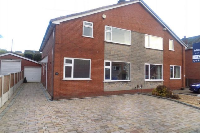 Thumbnail Semi-detached house for sale in Carr Lane, Chorley, Lancashire