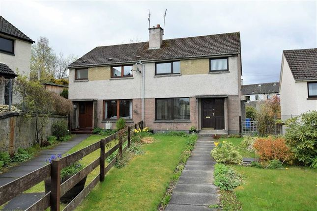 Thumbnail Semi-detached house for sale in Macdonald Road, Dingwall, Ross-Shire