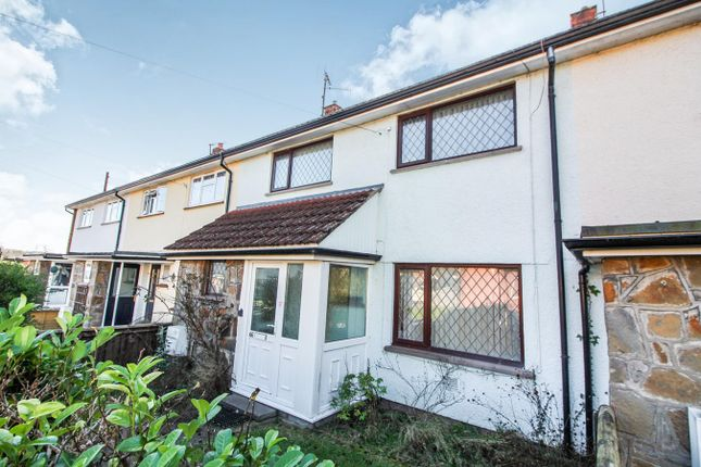 Thumbnail Terraced house for sale in Poplars Close, Mardy, Abergavenny