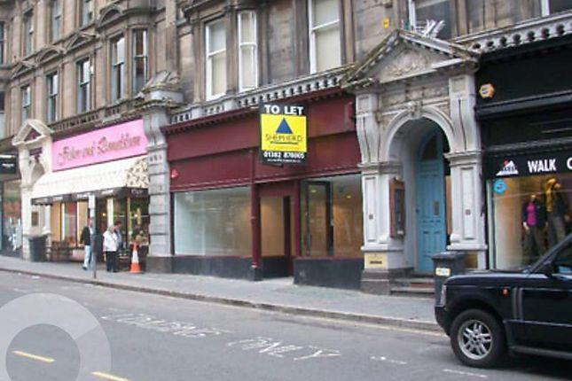Thumbnail Retail premises to let in Whitehall Street, Dundee
