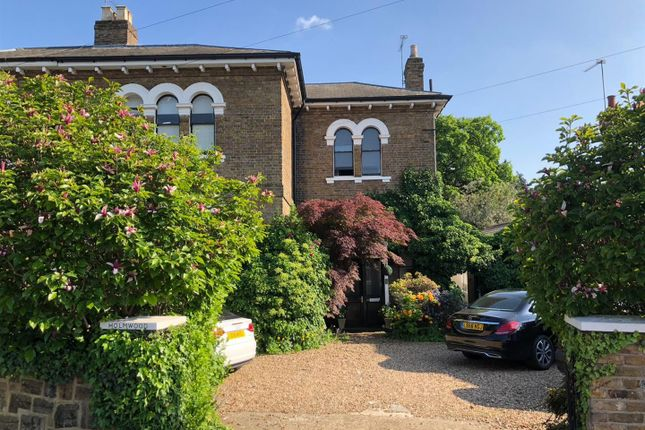 Thumbnail Semi-detached house for sale in Queens Road, Enfield