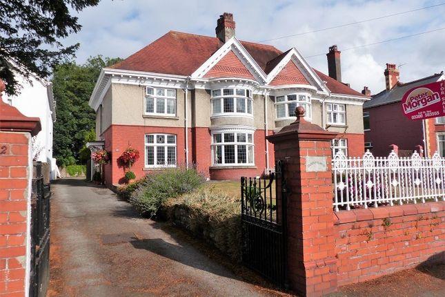 Thumbnail Semi-detached house for sale in Merthyr Mawr Road, Bridgend, Bridgend, Mid Glamorgan.
