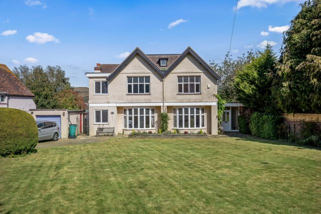 Thumbnail Detached house for sale in Cheriton Road, Folkestone