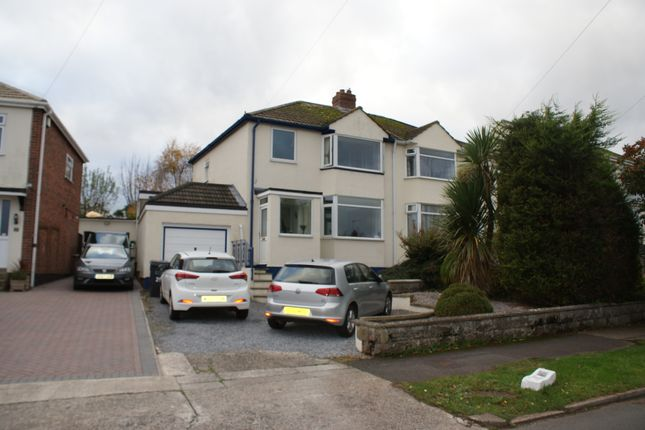 Thumbnail Semi-detached house to rent in Frobisher Green, Torquay