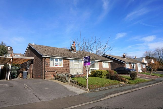 Thumbnail Bungalow for sale in Stoneyland Drive, New Mills