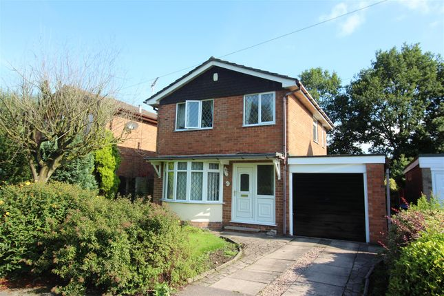 Thumbnail Detached house for sale in Beechwood Close, Blythe Bridge, Stoke-On-Trent