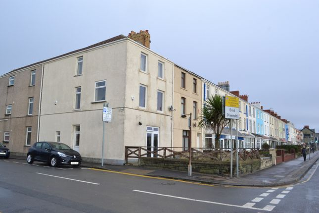 Thumbnail End terrace house to rent in Oystermouth Road, Swansea