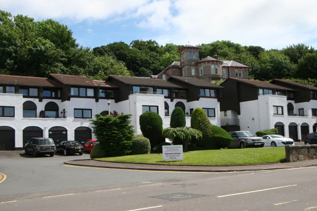 Thumbnail Flat for sale in Springfield Gardens, Largs