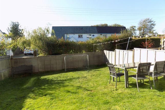 Garden of Beeching Close, Halwill Junction, Beaworthy EX21