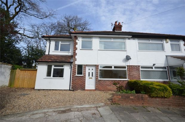 Thumbnail Semi-detached house for sale in Foxcovers Road, Bebington, Merseyside