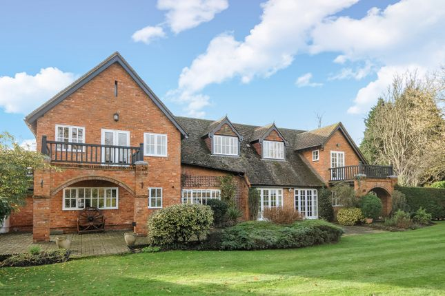 Thumbnail Detached house for sale in Warren Lane, Pyrford, Woking