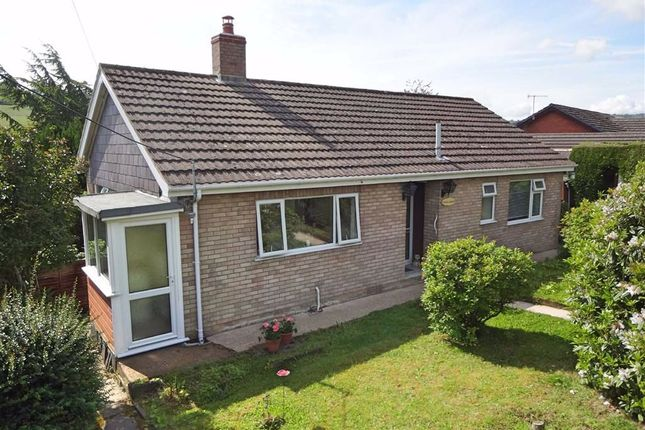 Thumbnail Bungalow for sale in Crud Y Gwynt, Step A Side, Stepaside, Newtown, Powys