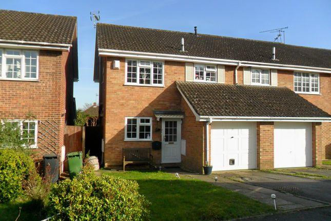 Thumbnail Semi-detached house for sale in Ashmead, Bordon