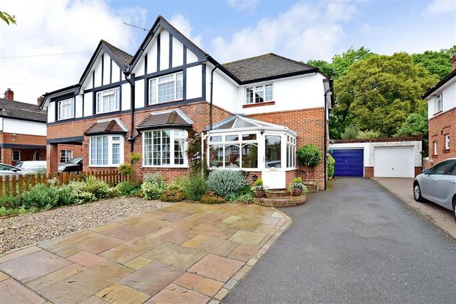 Thumbnail Semi-detached house for sale in The Causeway, Down End, Fareham, Hampshire