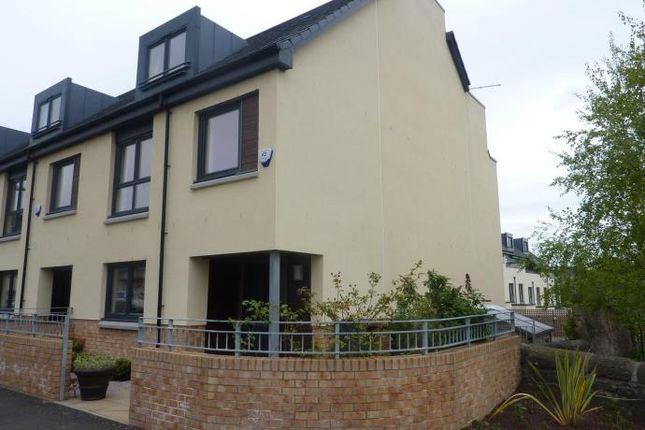 Thumbnail End terrace house to rent in Devon Place, Edinburgh